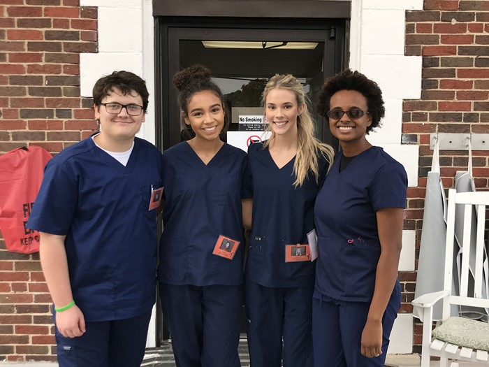 Nursing Education students at Ivy Hall