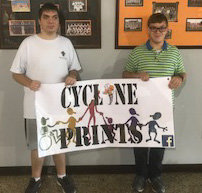 Cyclone Prints Banner