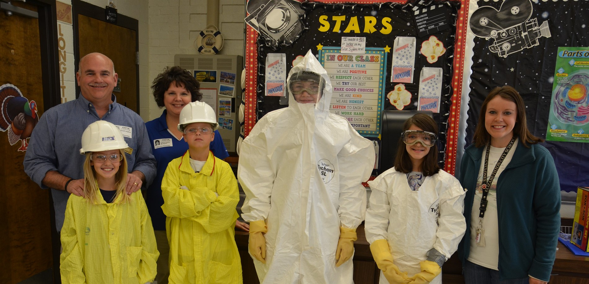 Nuclear Fuel Service friends teach safety in science